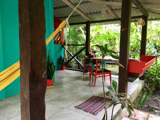 Cozy Jungle Hideaway -  3 min walk  to the beach