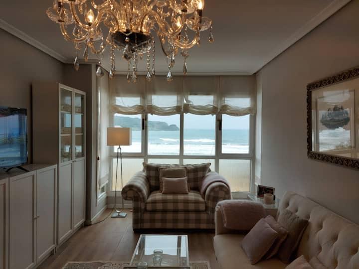 Beach apartment with stunning views