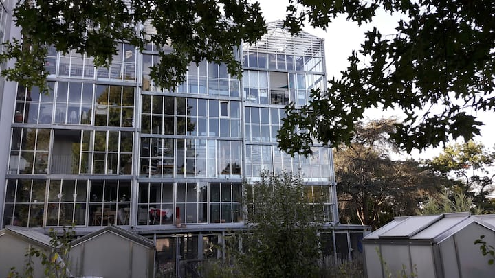Nantes: au coeur du parc, calme et tranquillité