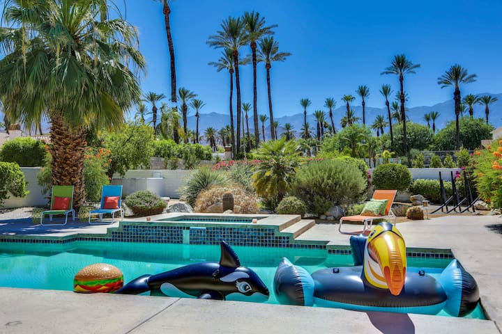 Palm Springs Estate, privacy, and great pool area!