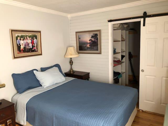 Master Bedroom Hugh closet for all ur stuff!