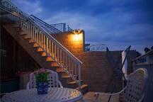 三楼外露台