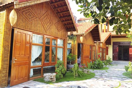Bungalow double w/ garden view 5 min to Tam Coc #3