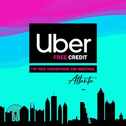 In town for a convention or trade show? Any 3 day business stay qualifies for free Uber gift card, good to get you back and forth with ease for at least 3days to your convention @ GWCC, Americas mart or downtown.
