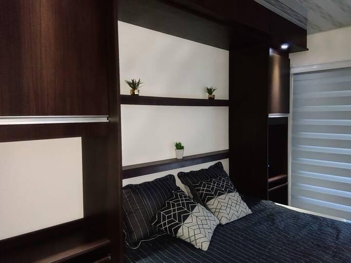 Hermosa Suite completa, tipo monoambiente. 306