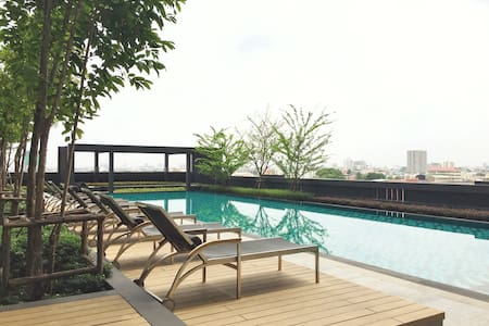 Cool Apt with 5 Stars Facility ,BTS - Bangkok