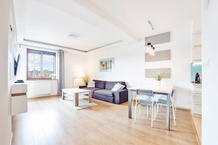 Bulwar Portowy 9 Apartament 41 dla 4 osób