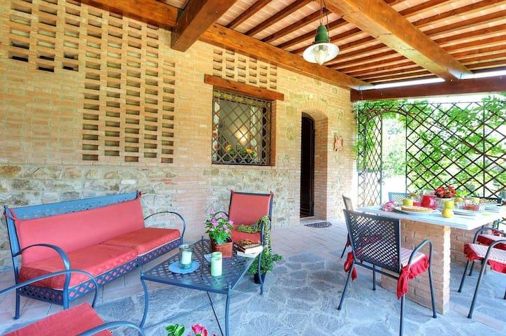 Apartment (Melograno) Volterra,San Gimignano,Pisa - Peccioli - Apartamento
