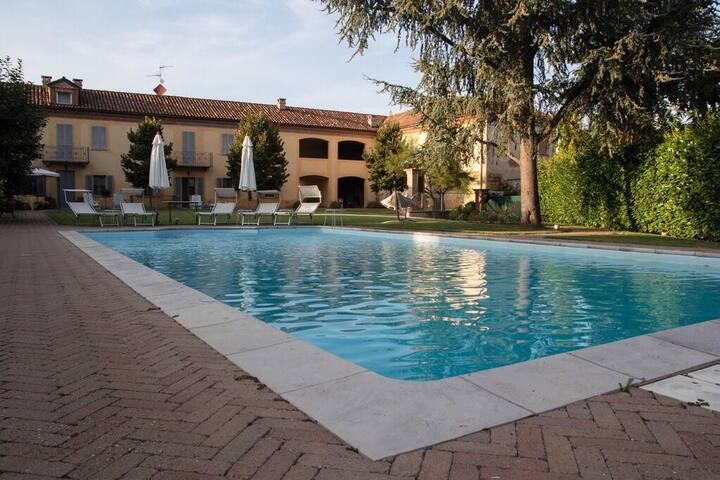 Il Castellazzo, relax e quiete nel Monferrato
