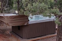 New Hot Tub ready for relaxing!