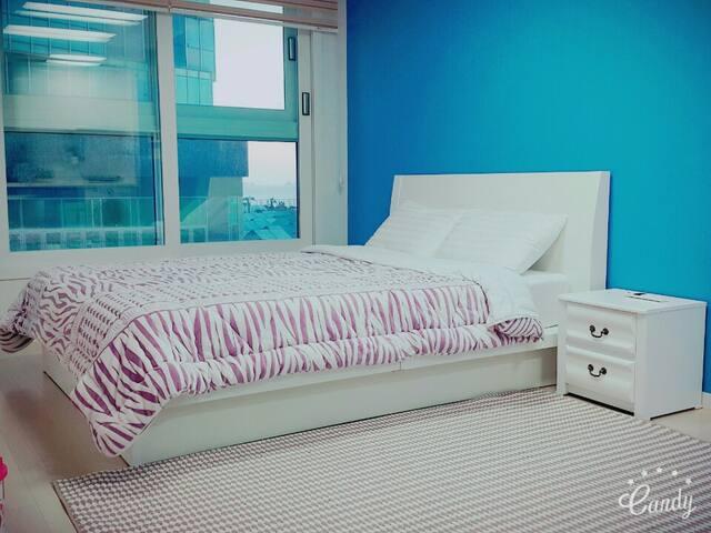 해운대 바닷가 걸어서 1분 레지던스 One-Room (haeundae residence)