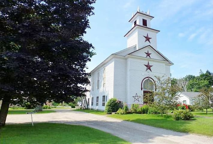 Unique Luxury Church nr Killington - Pittsford - Hus