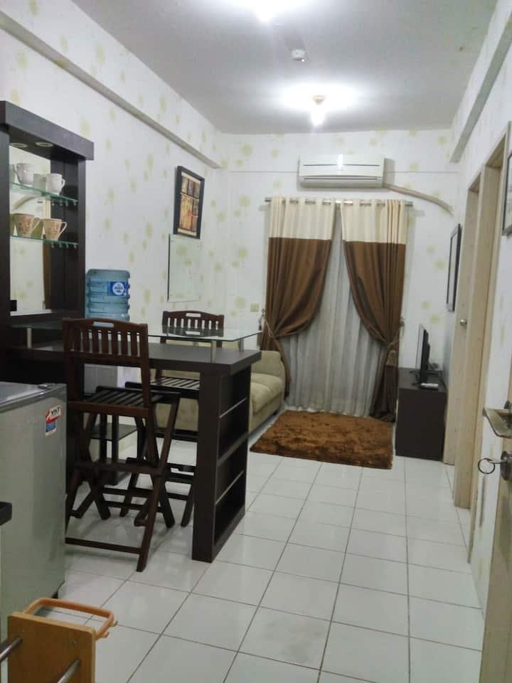 MENJOS rental apartemen