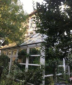 Biohaus im Grünen- ruhig und stadtnah
