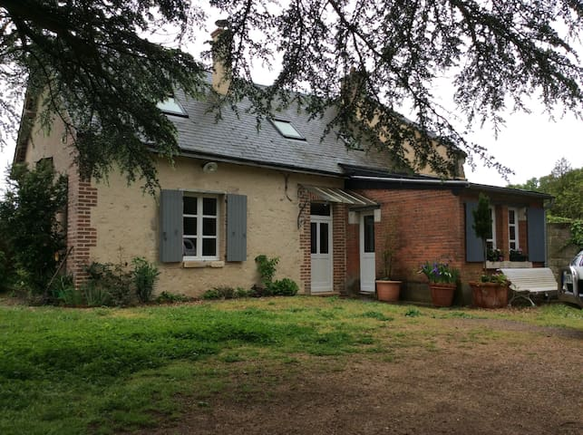 Maison du Garde Château du PLESSIS - Viévy-le-Rayé - Hus