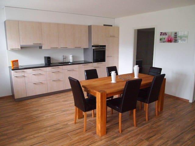 Neubau Wohnung an der Skipiste - Flums - Apartamento