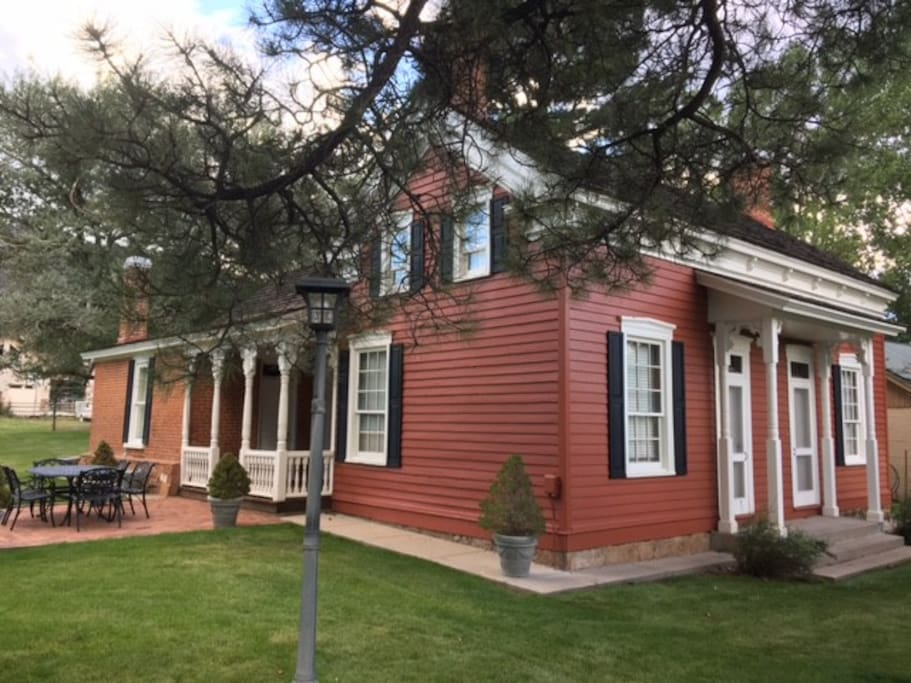 """""""The Red House"""" historic home 4bd/2ba Pine Valley - Houses ..."""