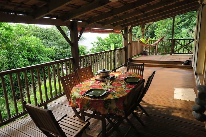 Appartement tout confort accès mer Caraïbe