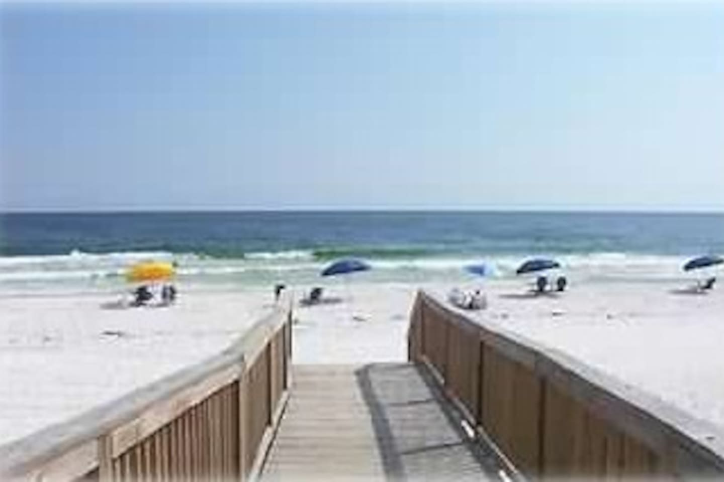 This beach is less than a two-minute walk from the condo! The walk is just down the stairs,around the pool, and down the sidewalk to the beach. There are no streets to cross.