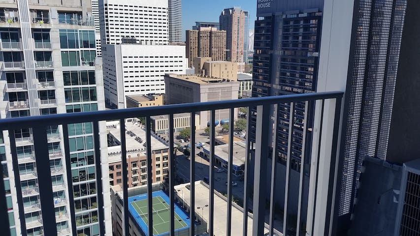 Top Floor 1 Bedroom Corner Penthouse with Views - Houston - Apartment
