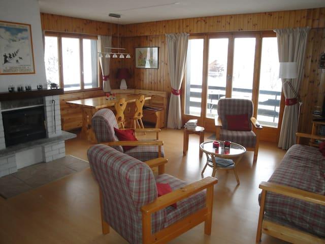 Appartement spacieux de 3 chambres  - Nendaz - Flat