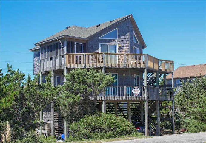 Hooked on Beach Life  OCEANVIEW in Avon w/Direct access to beach