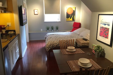 Private RM (Studio) w/ Private Bath & Kitchenette - San Francisco - Casa
