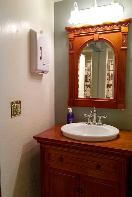 Vanity Sink (Bedroom 1)
