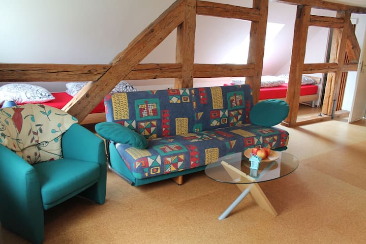 Cosily furnished apartment directly outside the island of Poel
