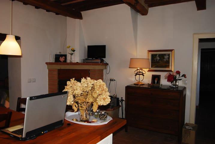 tipica abitazione toscana - Sassofortino - Apartamento