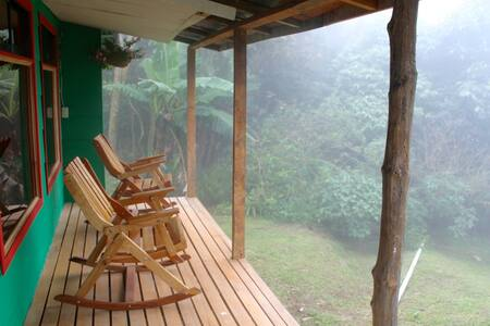 Cloud Forest Cottage, Guindon farm, Monteverde - Monteverde