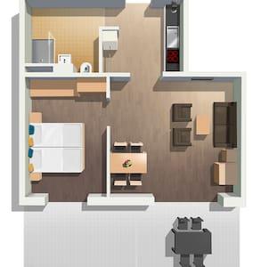 Exklusives, möbliertes 2 ZimmerApartment.1 - Schliengen - Flat