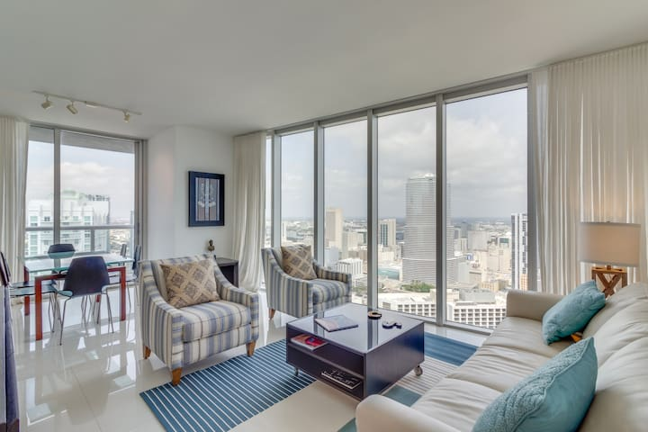 Amazing Icon Brickell 2/2 Corner Unit - Miami - Condominio