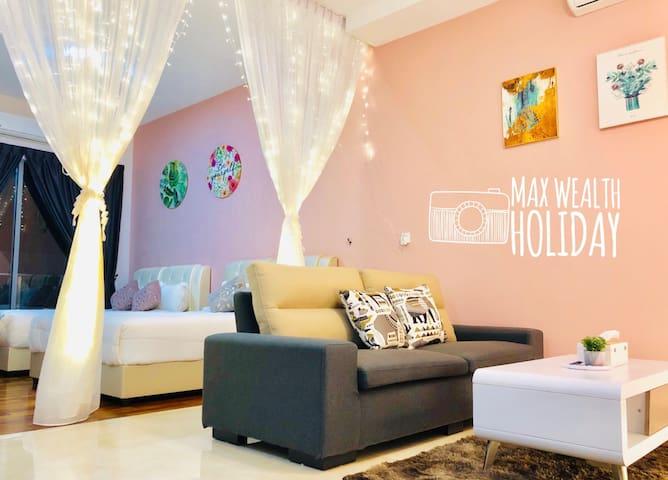 MWHoliday Romantic Suites(4pax)浪漫舒适套房@Silverscape