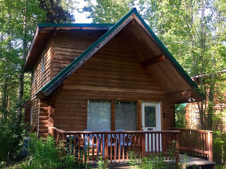 Talkeetna Log Cabin Unit 2