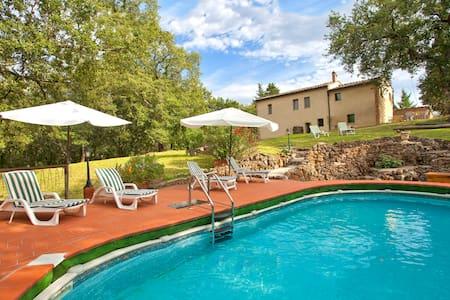 Idyllic old charming Cottage near Siena (10 km) - Sovicille - Villa
