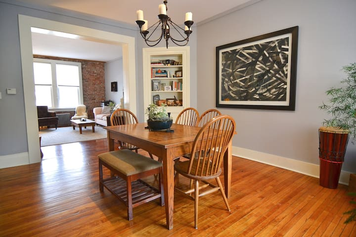 Historic Townhouse in the heart of The Berkshires! - Pittsfield - Casa