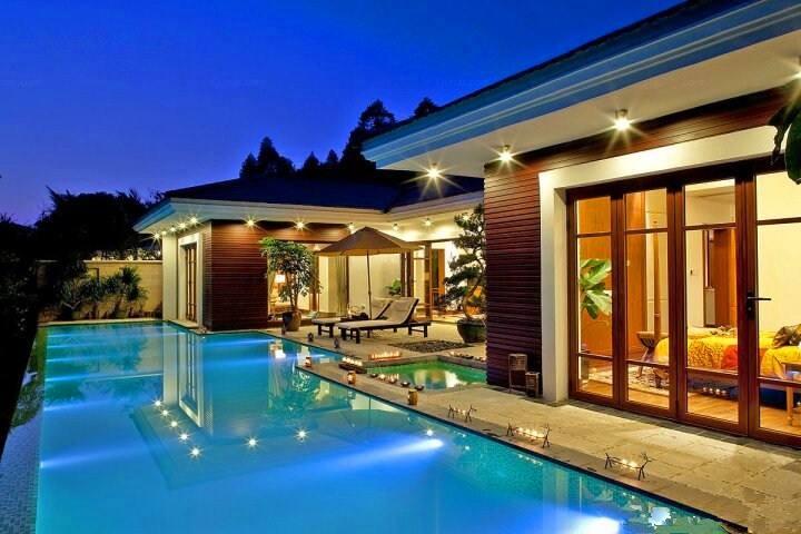 惠州候鸟温泉泳池大庭院烧烤两房别墅