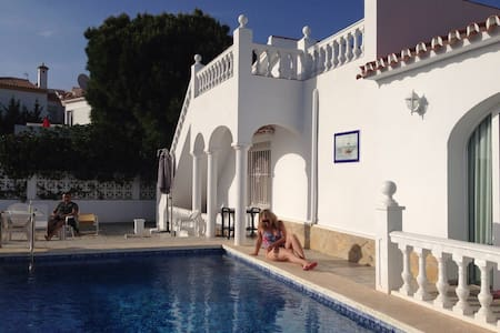 Villa with Private Pool and Gorgeous Vieuw - Caleta de Vélez