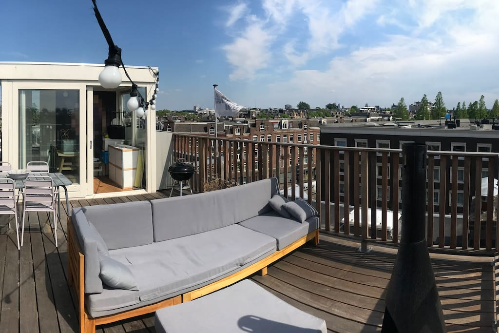 Chill area rooftop