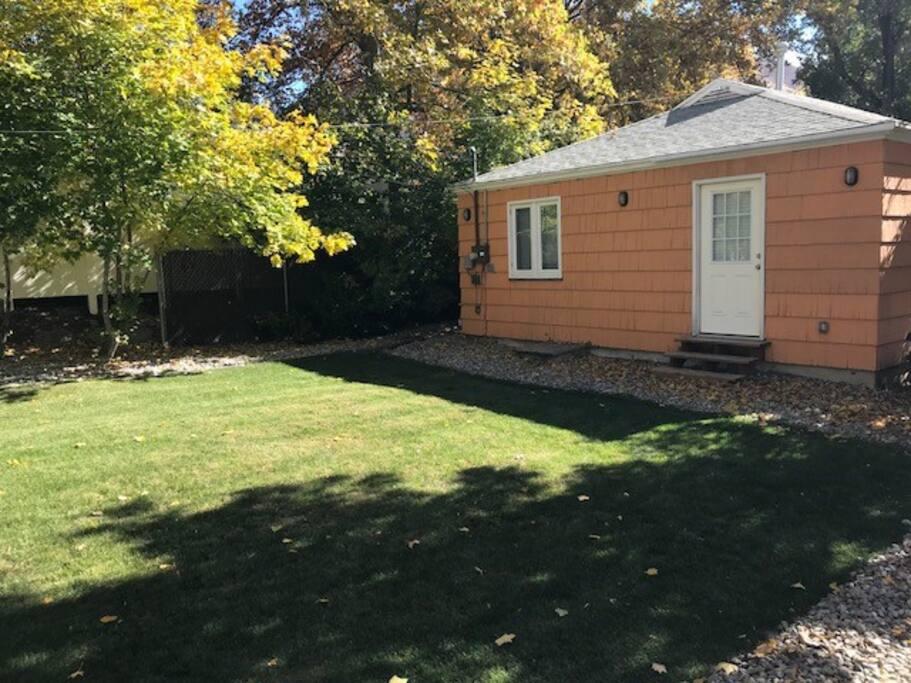 Back of house - back yard