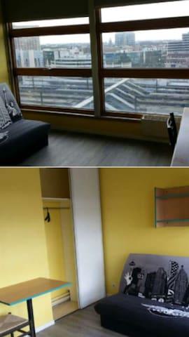 Studio très propre 18m² Euralille - Lille Centre - Lille - Apartment