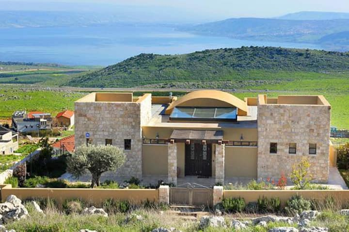 Vegan Galilee Villa for families & groups
