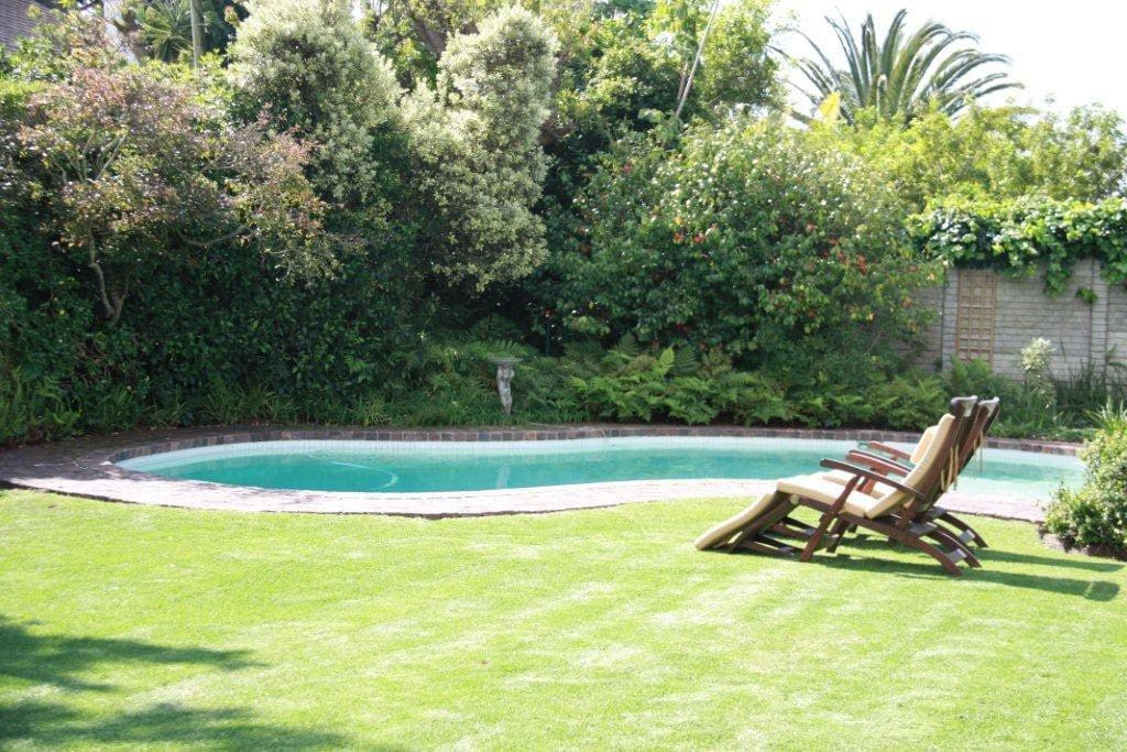 You are going to want to have a dip in our swimming pool and sunbathe on loungers.