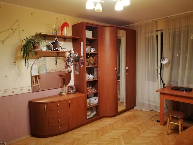 Cozy flat in the centre of Moscow.