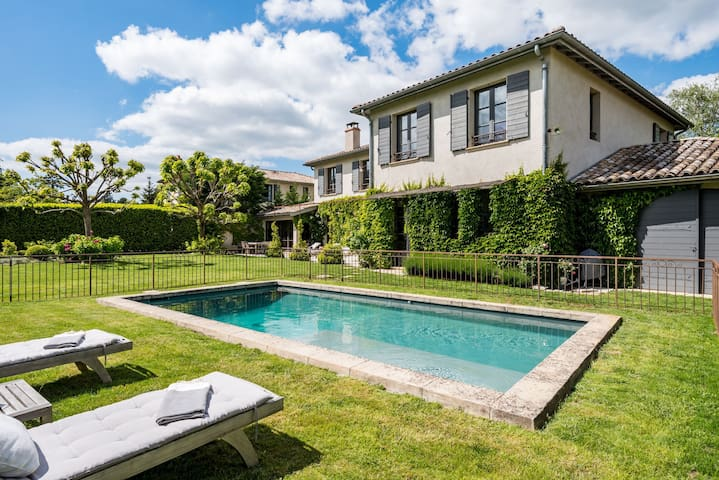 La Galerie - Family and charming house with pool