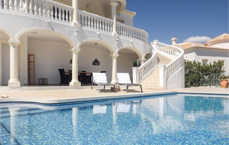Awesome home in Partida Trullent with Outdoor swimming pool and 3 Bedrooms
