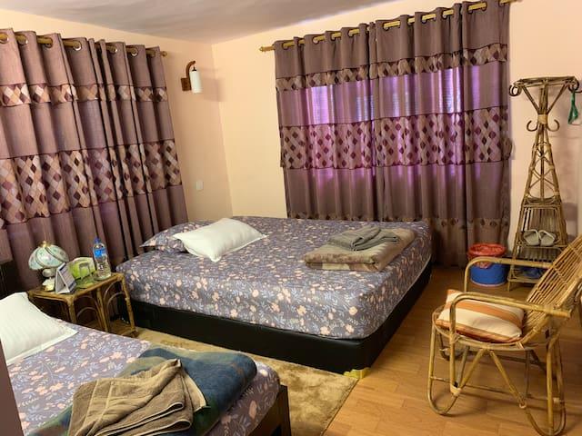 Dikshya's Family Homestay 2BK#1 near Int'l Airport