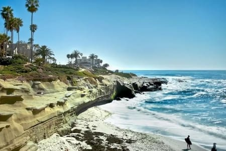 Private Oasis with OCEAN VIEWS, Hot tub! - San Diego - Hus