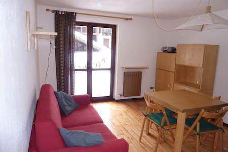 Bilocale con terrazzo e giardino - Courmayeur - Appartamento